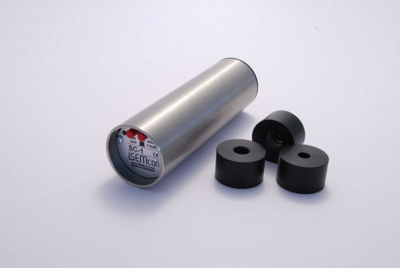 "Isemcon SC-1 Acoustical Calibrator including CA-1/2"" & CA-1/4"" adapters"
