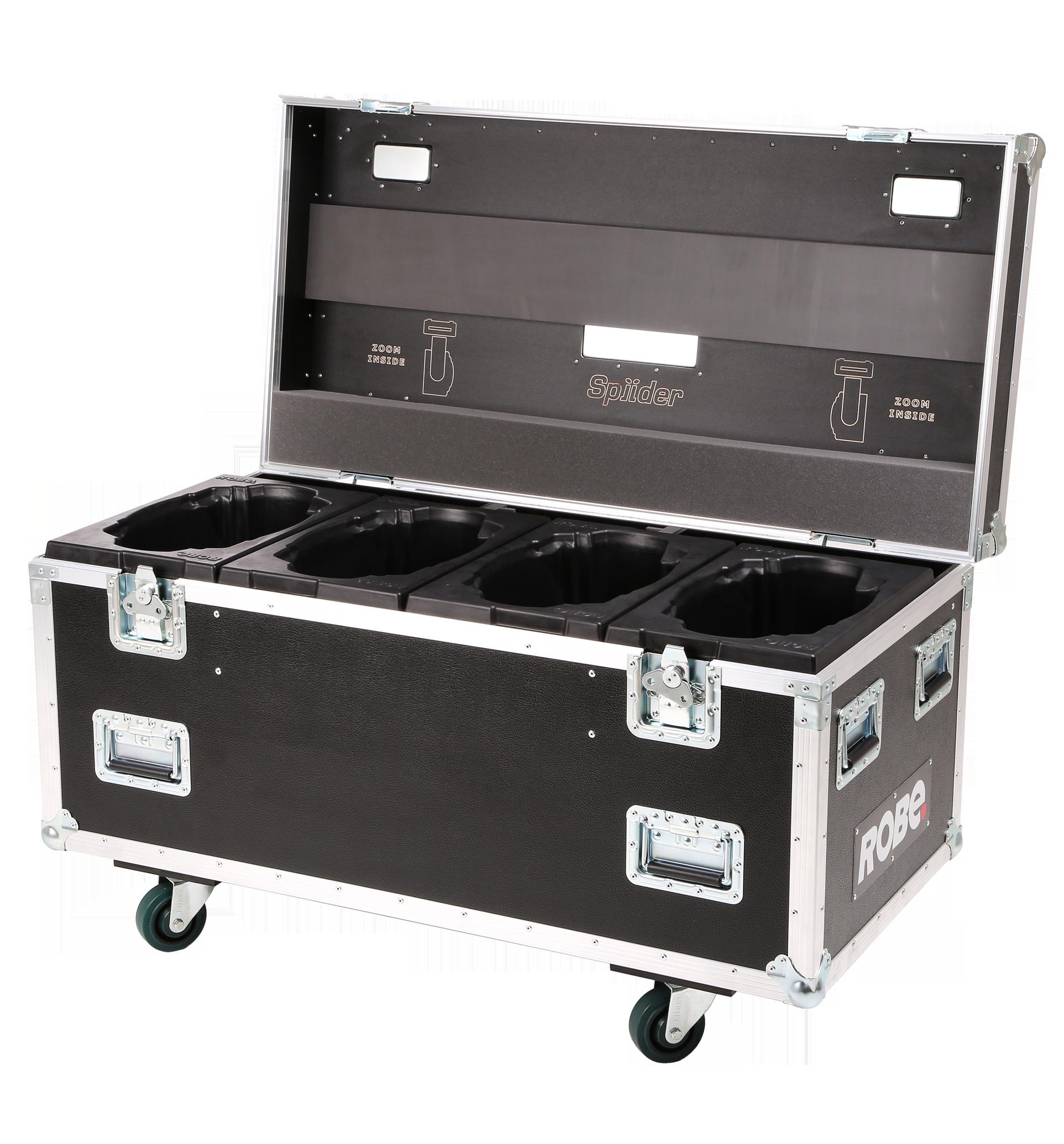 Robe Quad Top Loader Case Spiider®