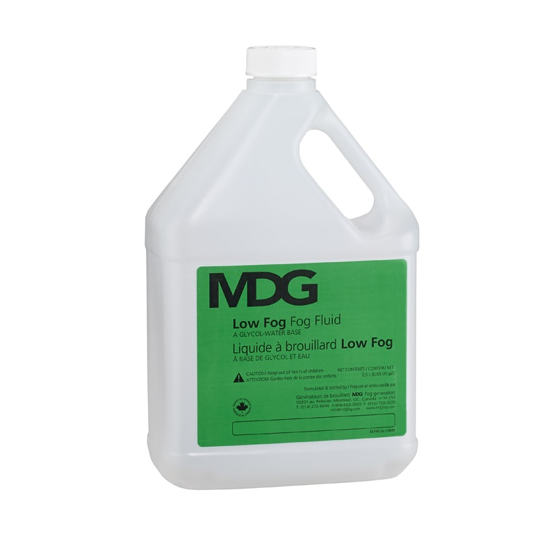 MDG LOW FOG Fluid 2.5L
