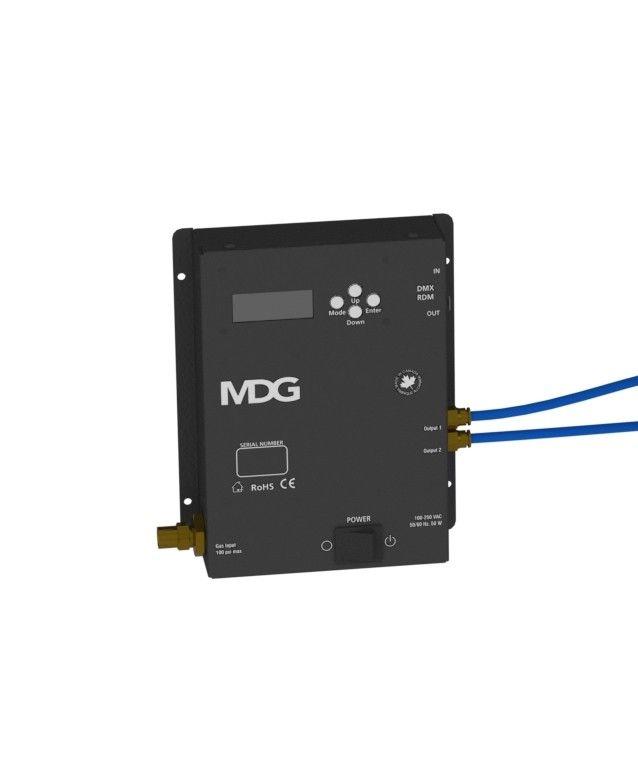 MDG Round Floor Pocket Control Box