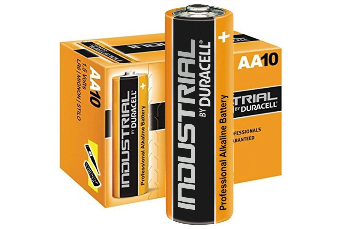 Duracell Industrial AA LR6 (10τμχ)