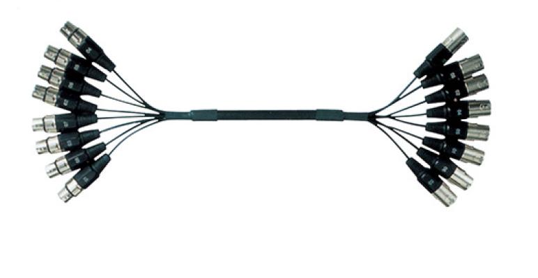 NBLS CD8112 - (8x) XLR 3-Pin αρσ. - (8x) XLR 3-Pin θηλ 3m