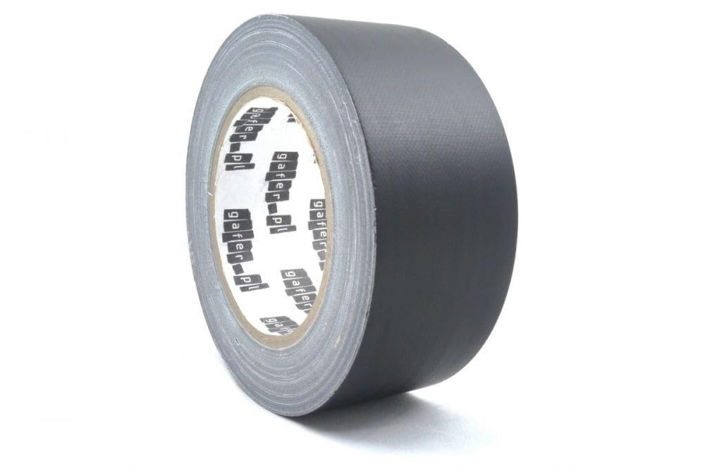 Gafer.pl Gaffer Tape Matt Black