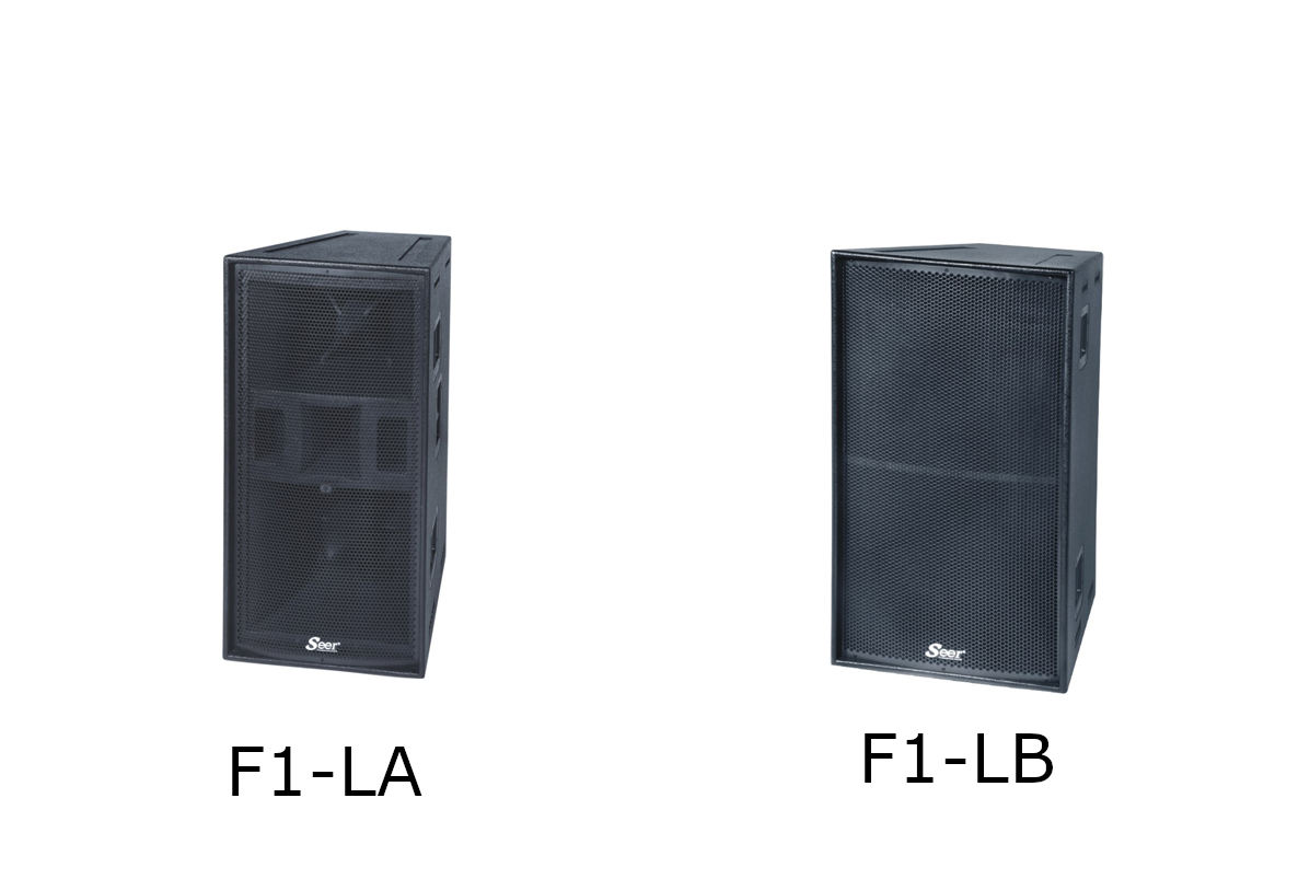 Seer Audio F1-LA & F1-LB Stereo Set B-Stock