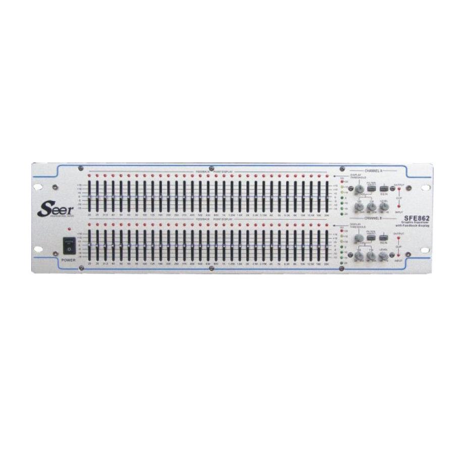 Seer Audio SFE-862 Γραφικό Equalizer