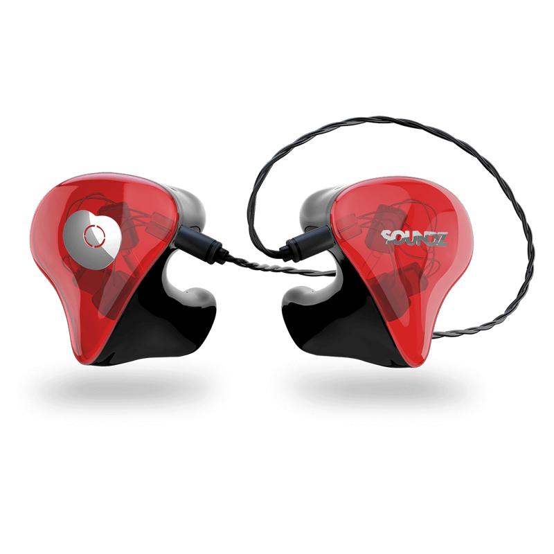 Soundz Muse In-Ear Monitors 3 Δρόμων Custom Fit