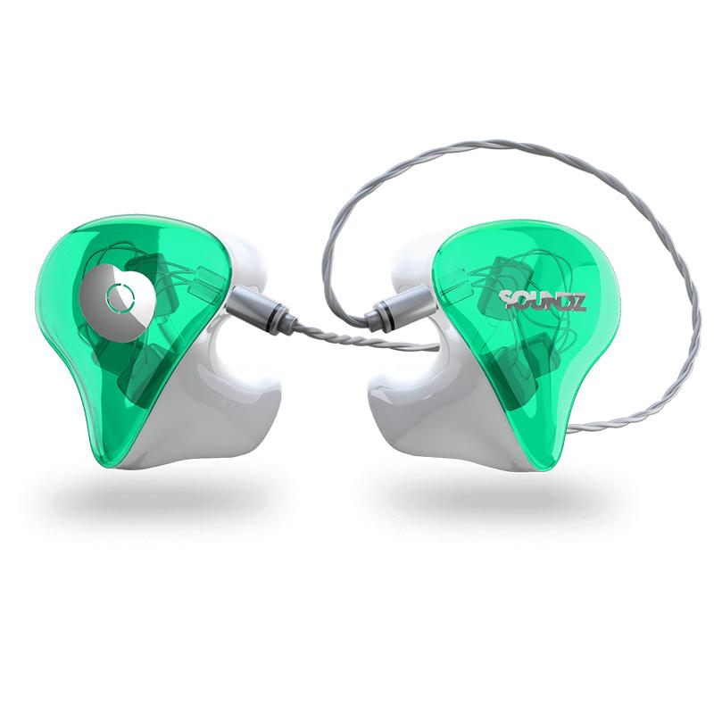 Soundz Boost In-Ear Monitors 2 Δρόμων Custom Fit