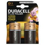 Duracell PLUS ALC D (Blister 2 Τεμαχίων)