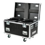 Robe Dual Top Loader Case MegaPointe® - Horizontal