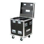 Robe Dual Top Loader Case MegaPointe® - Vertical