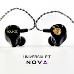 Soundz Nova In-Ear Monitors 6 Δρόμων Υβριδικά Ηλεκτροστατικά Universal Fit